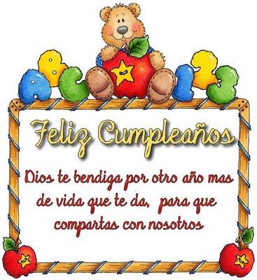 Frases de cumpleaños para niños