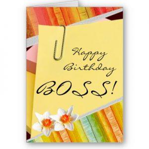 Frases de cumpleaños para un jefe
