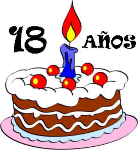 Frases de cumpleaños para 18 años