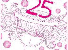 Frases de cumpleaños 25 años