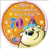 Frases De Cumpleaños Frases De Cumpleaños Para 70 Años